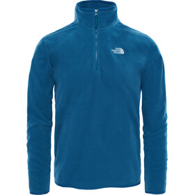The North Face 100 Glacier 1/4 Rits Heren, monterey blue